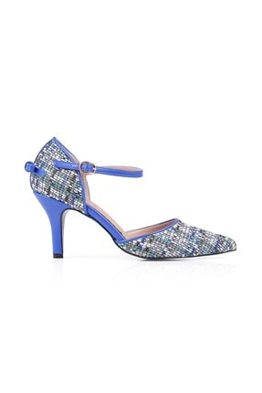 Gabriela Mavi Topuklu Ayakkabı MAVİ