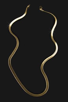 Forivia Kadın 22 Ayar Altın Kaplama 50 cm İtalyan Zincir