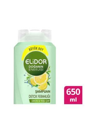 Elidor Şampuan 650 Ml Detox Ferahlığı Limon Ve Yeş