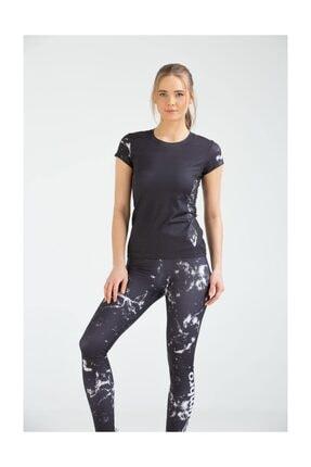 Umbro Kadın Slimfit Tayt T-shirt Takım Vb-0004 Tev Sportswear Suit