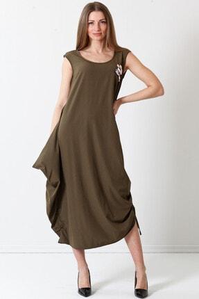 Herry Kadın Haki Elbise 19pya6715