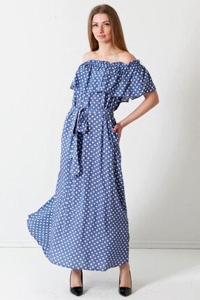 Herry Kadın Indıgo Elbise 19pya6605