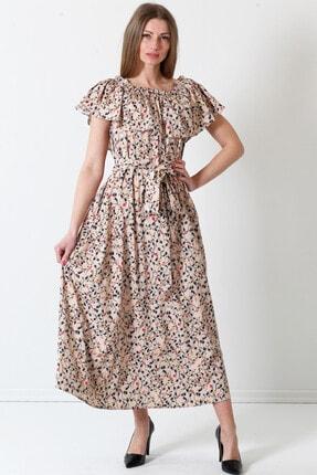 Herry Kadın Bej Elbise 19pya6736