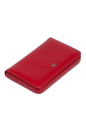 Tergan Kırmızı Unisex Kartvizitlik 01546c71