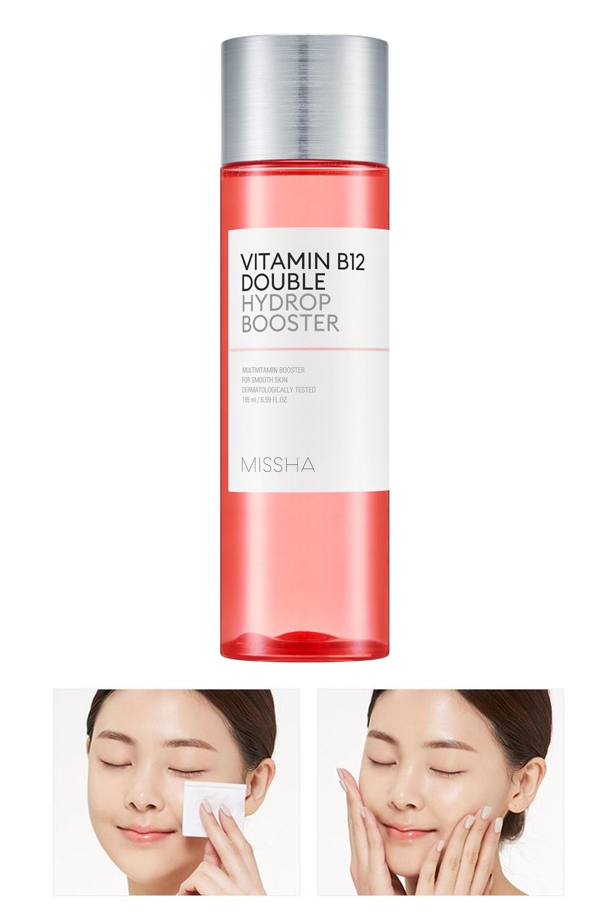 Missha Tonik - Vitamin B12 Double Hydrop Booster 195ml 8809581456488