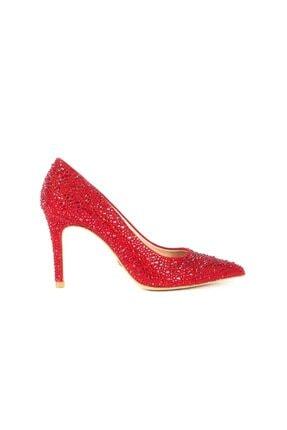 Rouge Kırmızı Suet Kadın Casual Ayakkabı  201Rgk720 4924-18