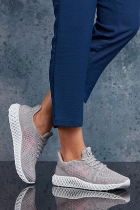 DARK SEER Gri Fuşya Unisex Sneaker