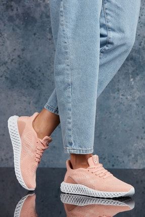 DARK SEER Pudra Beyaz Unisex Sneaker