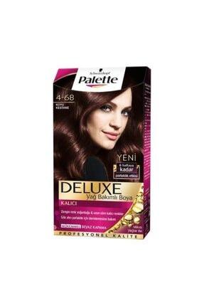 Palette Saç Boyası - Deluxe 4-68 Koyu Kestane 50 ml 8690572780978