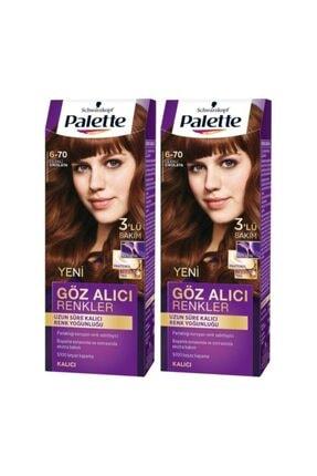 Palette Göz Alıcı Renkler 6-70 Çilekli Çikolata  X 2 Adet