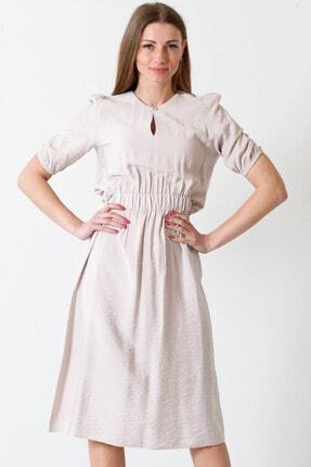 Herry Kadın Bej Elbise 20fy60097