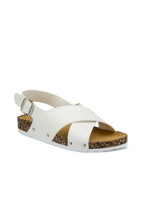 Polaris Beyaz Kadın Sandalet 315539.z