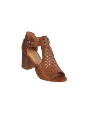 MAJE Kadın Taba Topuklu Ayakkabı