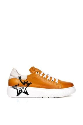Bueno Kadın Sarı Spor Ayakkabı 20wr4802-str