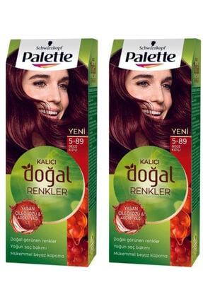 Palette Natural Colors 5-89 Gece Kızılı Yenı 2 Adet
