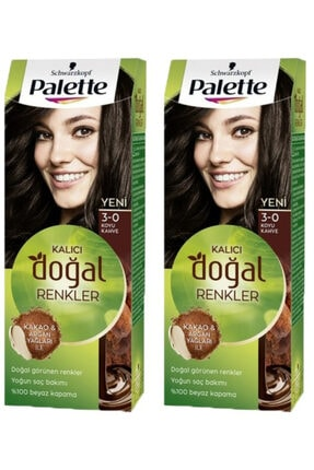 Palette Natural Colors 3-0 Kahve Sac 2 Adet