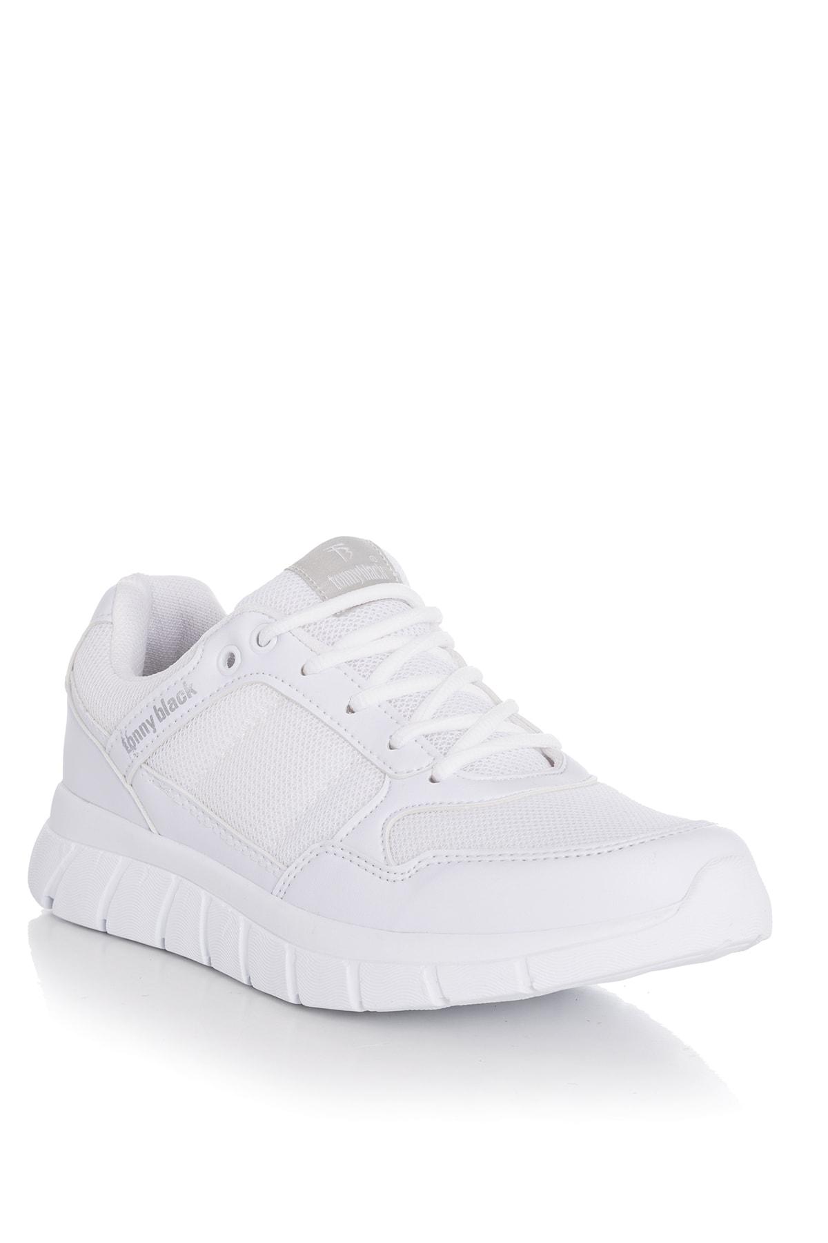 Tonny Black Beyaz Kadın Sneaker 771-0