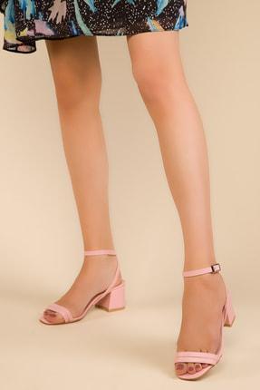 SOHO Pudra Kadın Klasik Topuklu Ayakkabı 15000