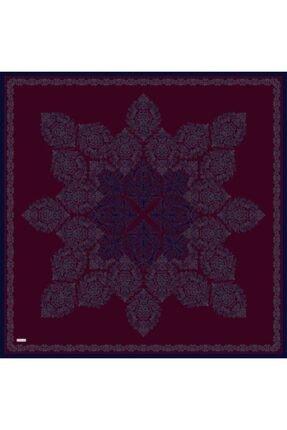 Sarar Kenarı Yaldızlı Duz Renk Ipek Esarp 1761-4