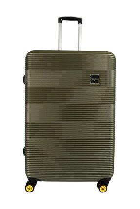 YOUNG Unisex Yeşil Valiz/Bavul  Ygvlz5203-L