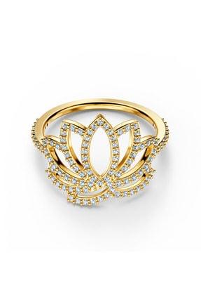 Swarovski Yüzük Swa Symbol-ring Lotus Czwh-gos 60 5535595