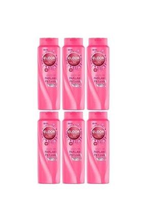 Elidor Şampuan Güçlü Ve Parlak 650 ml 6 Adet