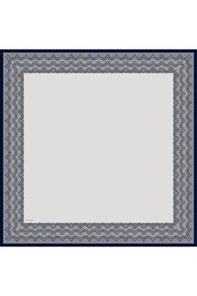 Sarar Kenarı Yaldızlı Duz Renk Ipek Esarp 1682-29