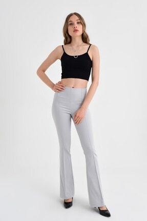 Jument Kadın Gri Pantolon 40005