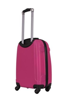 Laguna Fuşya Unisex 2'Li Set (Kabin + Orta) Valiz & Bavul Hbv00000It7Gb