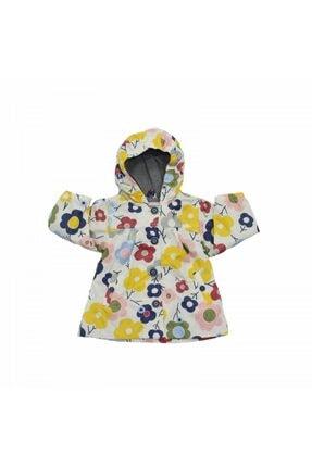 Mila Bebe Midimod Desenli Kız Bebek Yağmurluk  00001355-0
