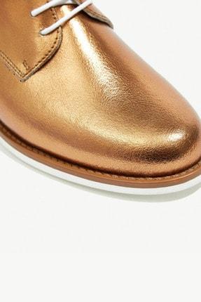 Kadın Bronz Deri Ayakkabı 8YKAY4000X