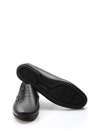 Fast Step Hakiki Deri Siyah Erkek Loafer Ayakkabı 628ma1002