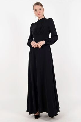 Puane Kadın Siyah Elbise -pn12179