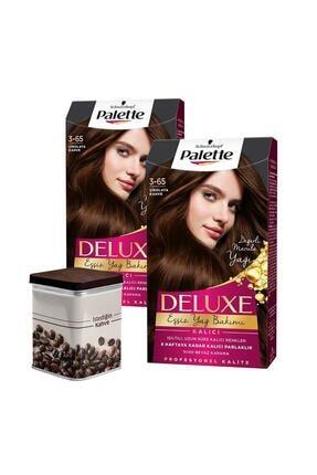 Palette 3-65 Çikolata Kahve X 2 Adet + Türk Kahvesi