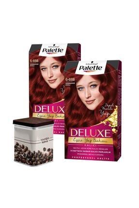 Palette Saç Boyası 6-888 Sonbahar Kızılı X 2 Adet + Türk Kahvesi SET.HNKL.1458