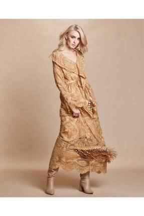 Serpil Saçaklı Güpür Elbise