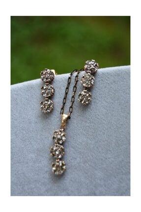 Stoneage Jewellery Zirkon Taşlı Set
