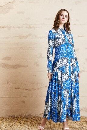 Serpil Kadın Desenli Elbise