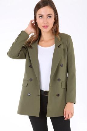 Bigdart Kadın Haki Oversize Ceket 631