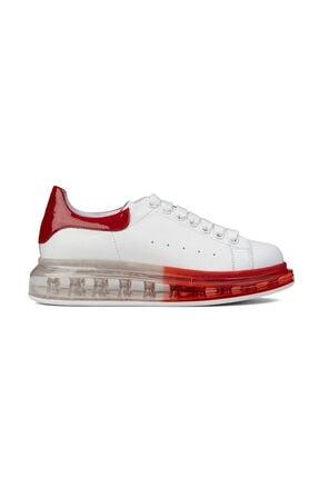 Greyder Kadın Beyaz-Kırmızı Sneaker 0Y2SA29910