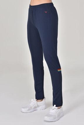Bilcee Lacivert Kadın Pantolon  GS-8095