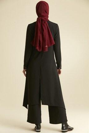 Nihan Kadın Siyah Pantolonlu Tunik Takım  9a5037