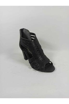Pandora Taşlı Kadın Topuklu Ayakkabı
