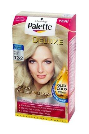 Palette Deluxe Kit Titan Sarı 12.2 Saç Boyası