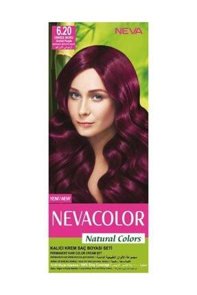 Neva Color Saç Boyası Seti 6.20 Orkide Moru 8698636612296