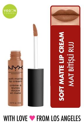 NYX Professional Makeup Mat Ruj - Soft Matte Lip Cream London 14 g 800897142858