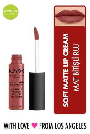 NYX Professional Makeup Mat Ruj - Soft Matte Lip Cream Rome 14 g 800897849023