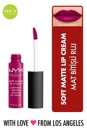 NYX Professional Makeup Mat Ruj - Soft Matte Lip Cream Madrid 14 g 800897848972