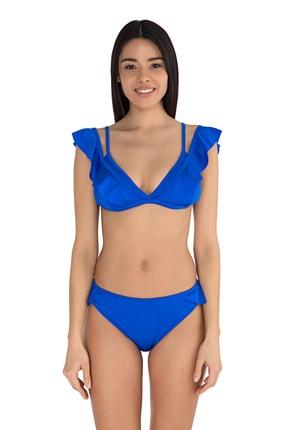 Sunset Kadın Sax Firfirli Bikini