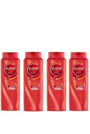 Elidor Renk Koruyucu Ve Canlandırıcı Saç Bakım Şampuanı 500 ml X 4 Set